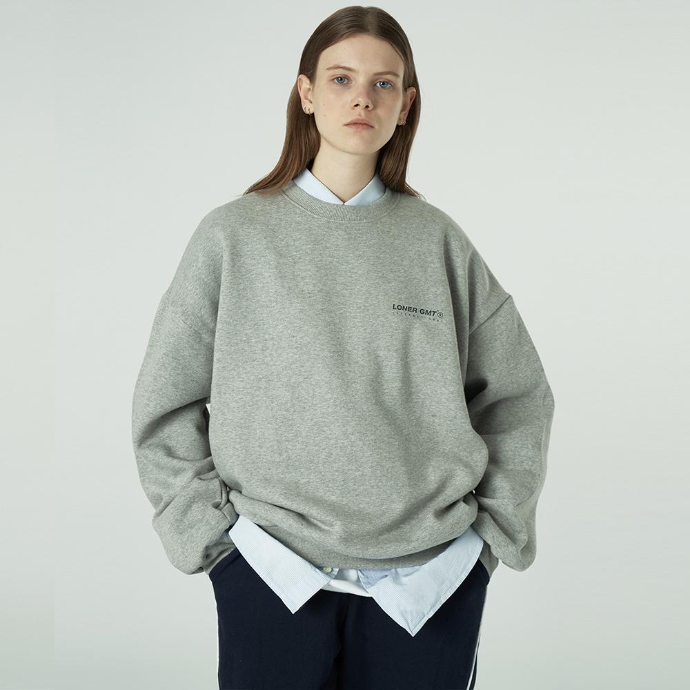 [L]Gmt standard sweatshirt-grey