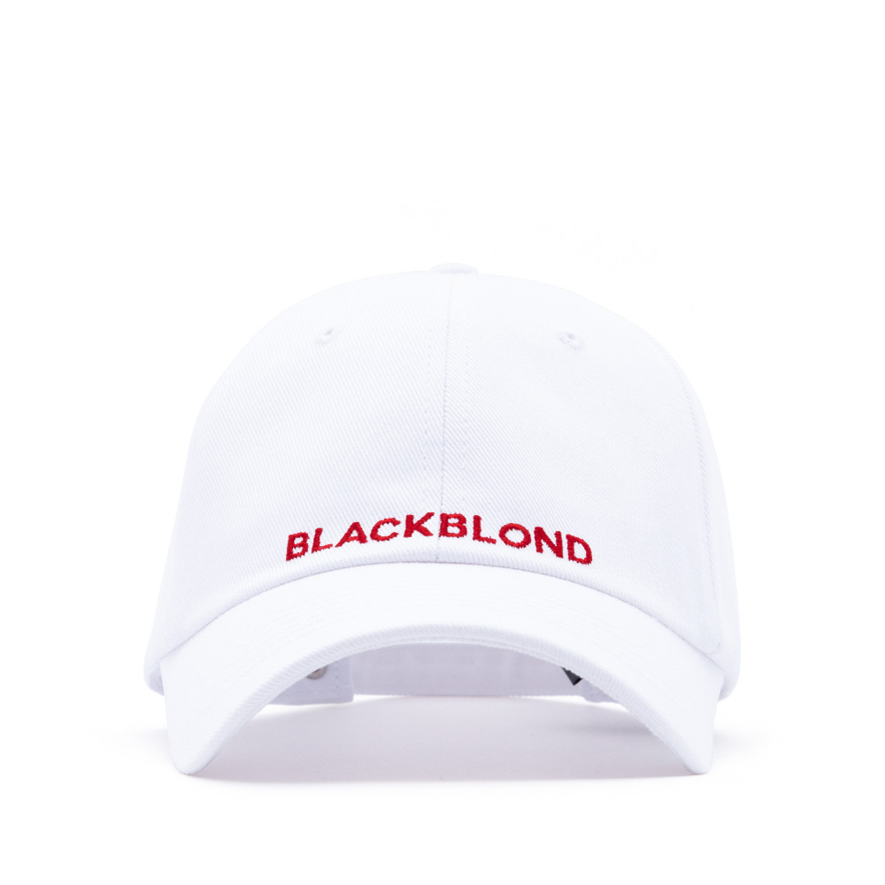 BBD Original Logo Cap (White/Red)