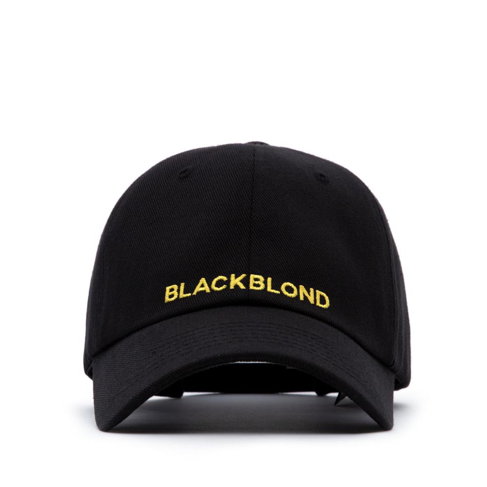 [단독할인]BBD Original Logo Cap (Black/Yellow)