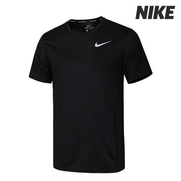 [국내]나이키 M NK 브리드 런 탑 반팔 티셔츠 (904634-010)