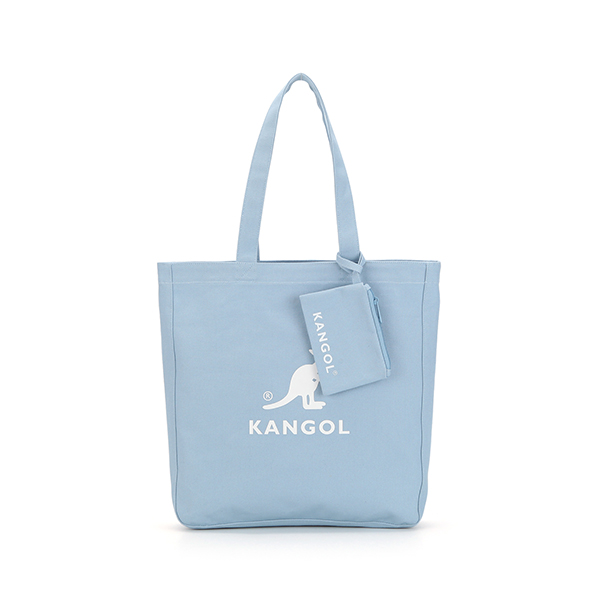 Dual Canvas shopper bag 0034 LT.BLUE