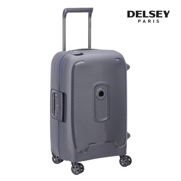 프랑스 명품 캐리어[델시]DELSEY - 몽시 20인치 (Grey) 기내용 경량 프레임