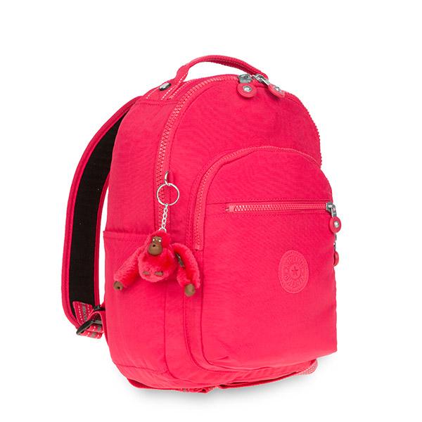 [키플링]SEOUL GO S Small Backpack True Pink 서울고 스몰 백팩