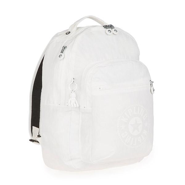 [키플링]KIPLING - CLAS SEOUL Large backpack Lively White 백팩