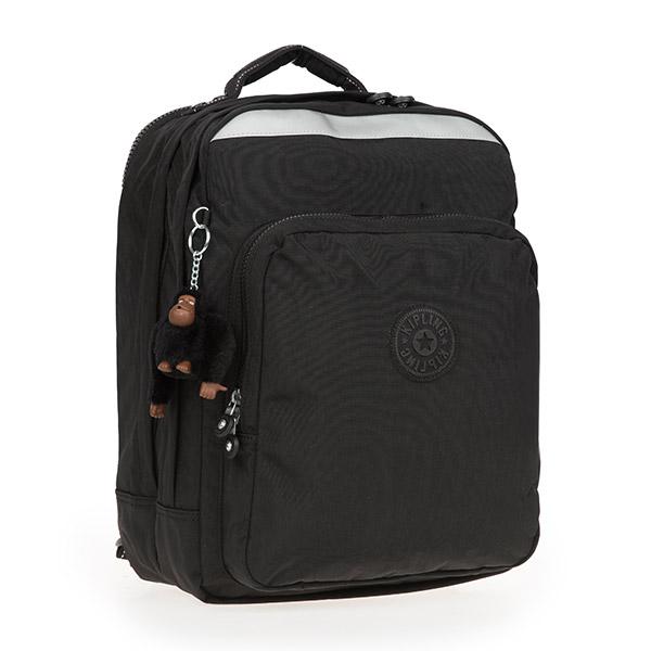 [키플링]KIPLING - COLLEGE UP Large backpack True Black 백팩
