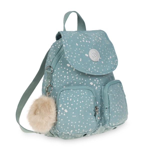 [키플링]FIREFLY UP Small backpack Silver Sky 파이어플라이업 스몰 백팩