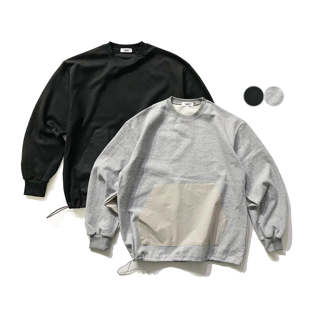 나일론 카고 스웨트셔츠  (2color)
