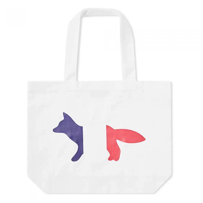 [국내배송][메종키츠네 숄더/토트/에코백] Tricolour Fox Tote B