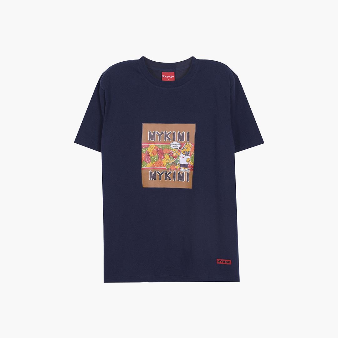[1+1] 조보아 착용 MYKIMI Jelly bear T-shirts