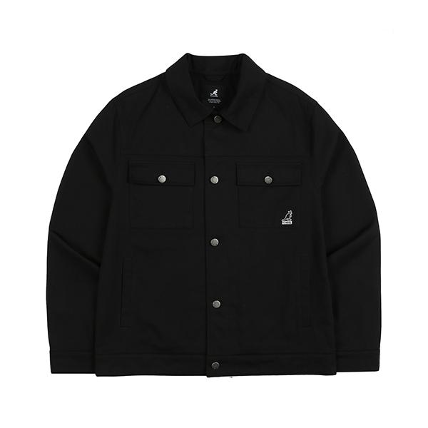 Twill Trucker Jacket 8510 BLACK