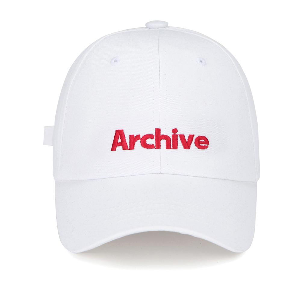 [마스크5개증정][단독할인]ARCHIVE 볼캡 - 화이트