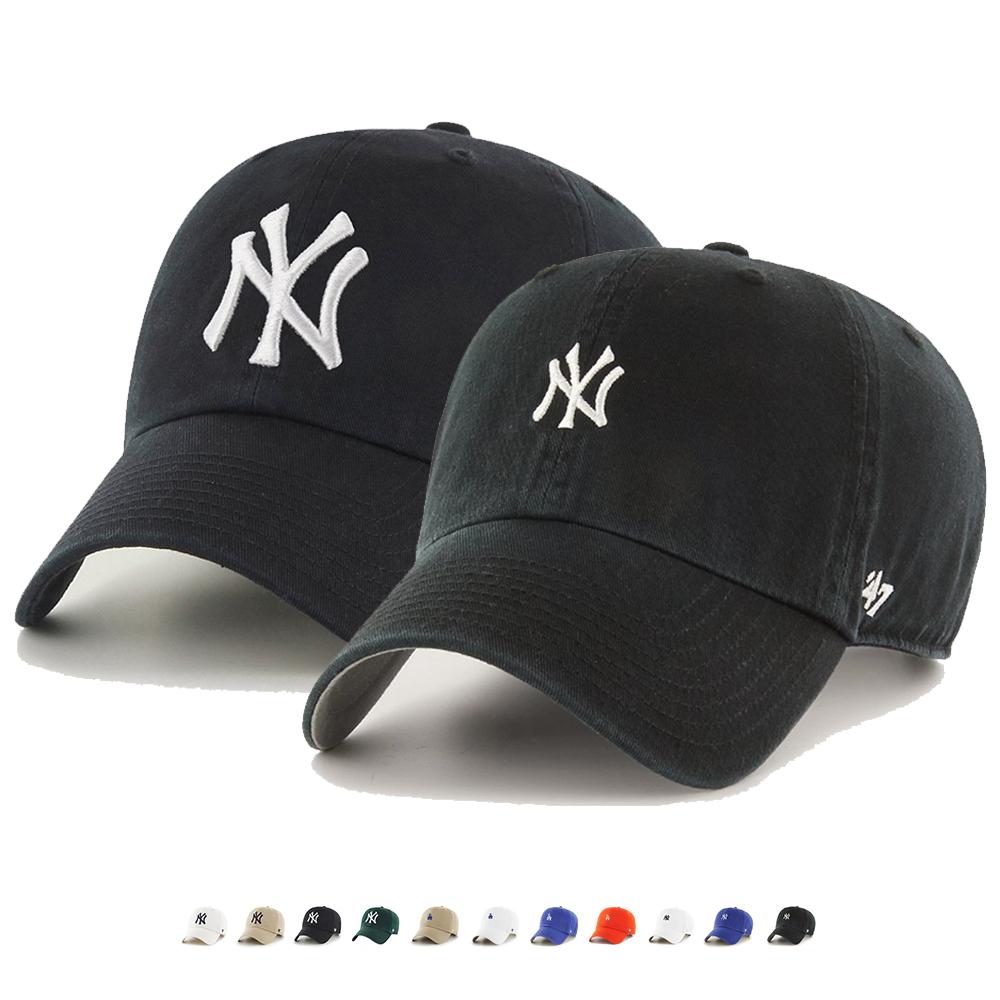 [단독할인][국내배송]47브랜드 LA/NY 로고 클린업 모자 볼캡 모음
