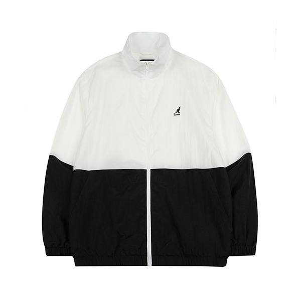Twin Colored Zip Jacket 8117 BLACK