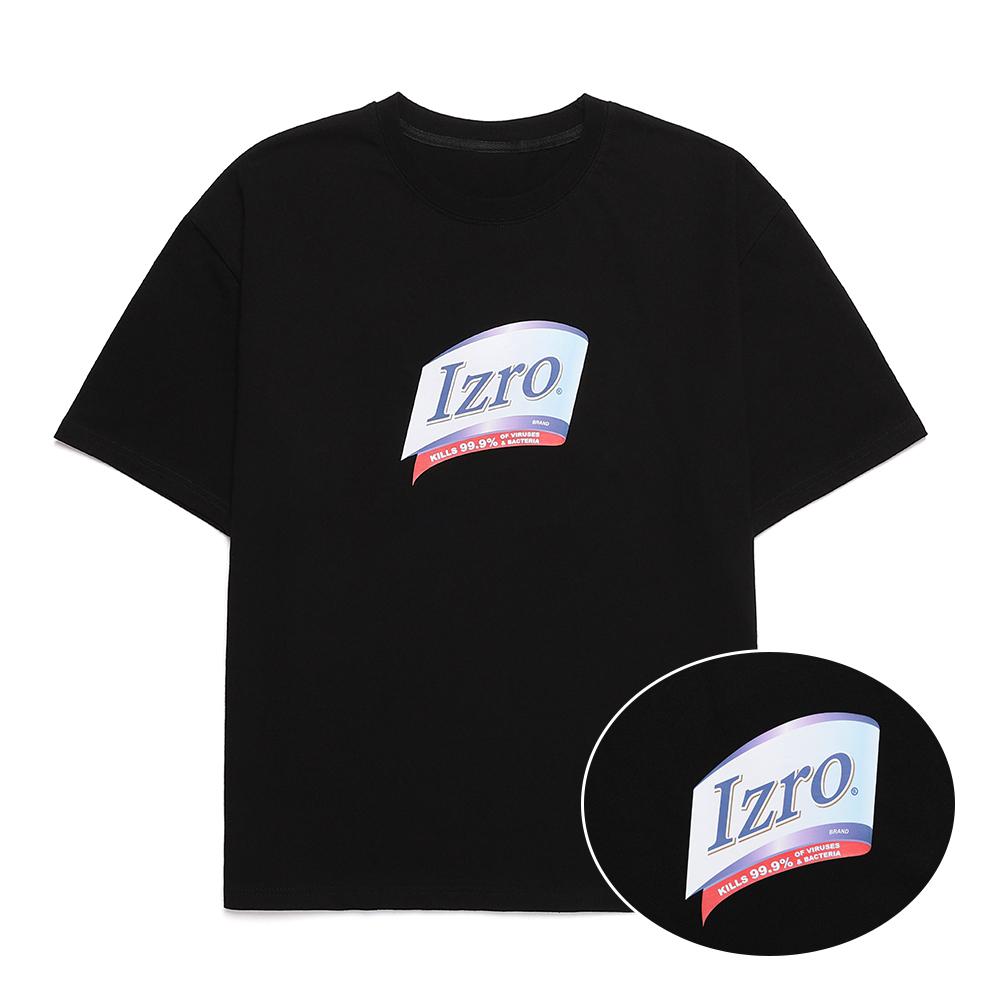 IZRO LAUNDRY T SHIRT - BLACK