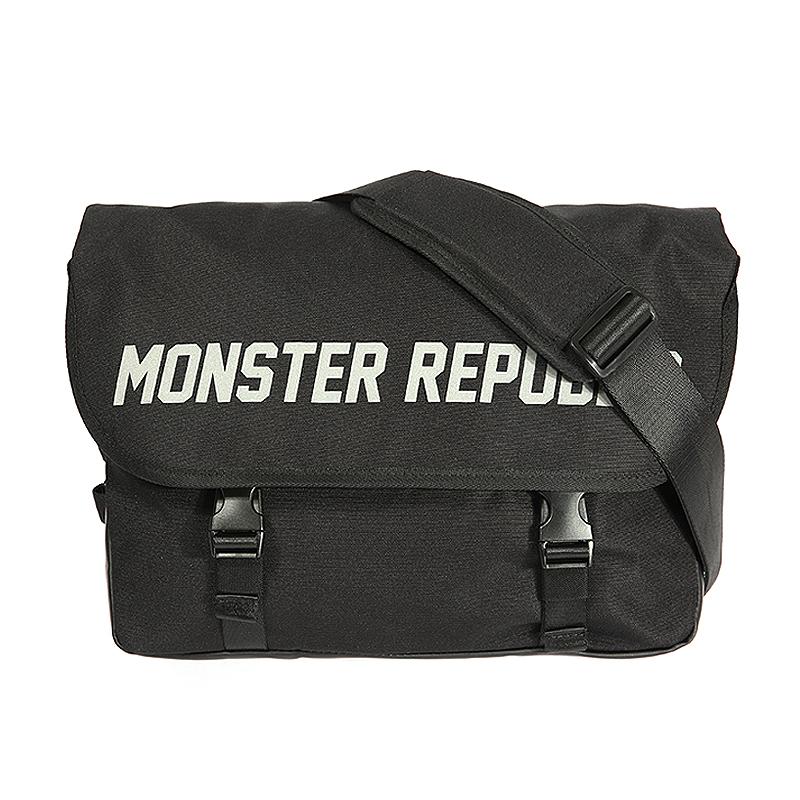 몬스터 리퍼블릭 MONSTER SCOTCH MESSENGER BAG  BLACK