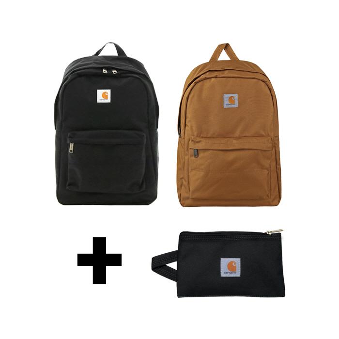 [한정세트]국내칼하트 트레이드 백팩+멀티파우치 S 블랙