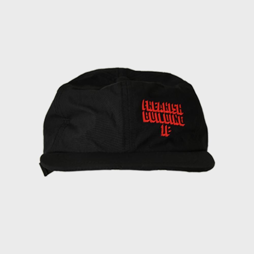 [FHBG] SINGLESIDE FLAT CAP (BLACK)