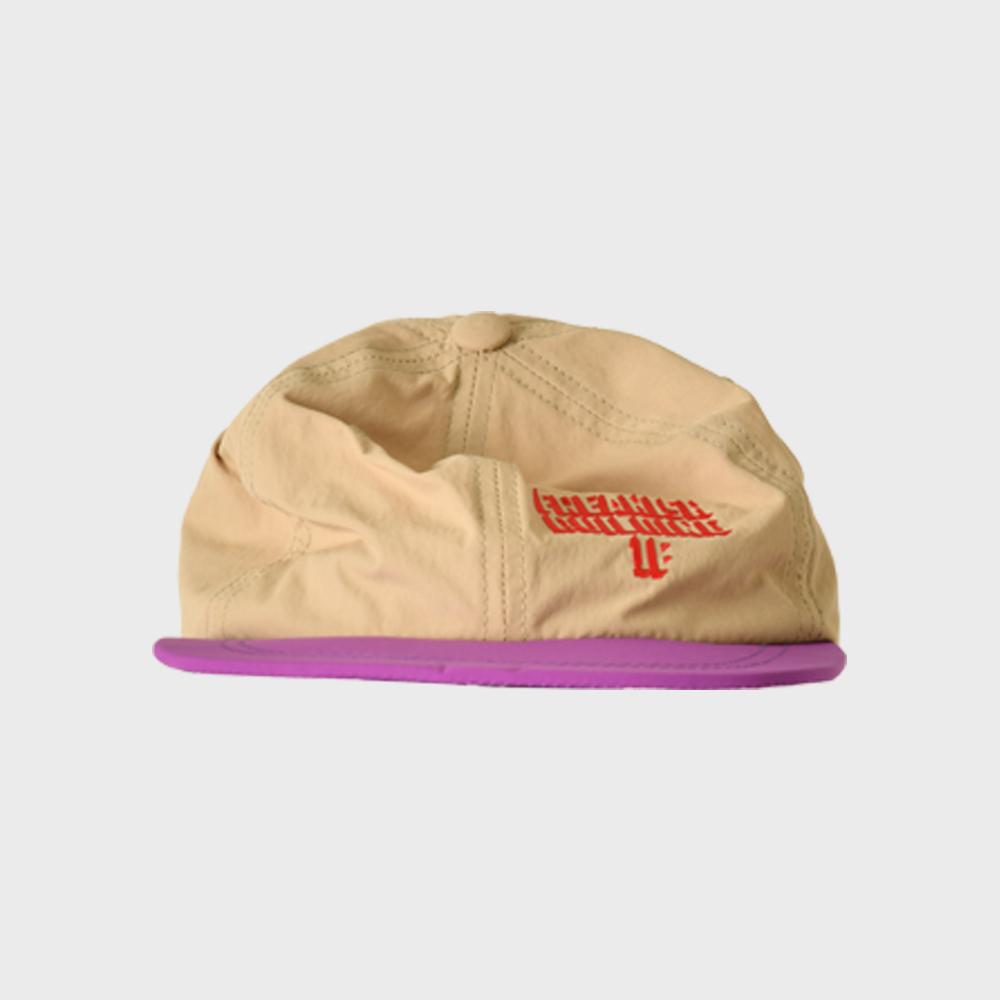 [FHBG] SINGLESIDE FLAT CAP (BEIGE)