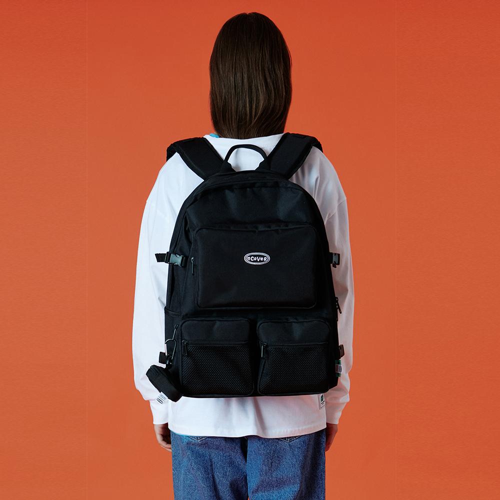 Two pocket original backpack-black