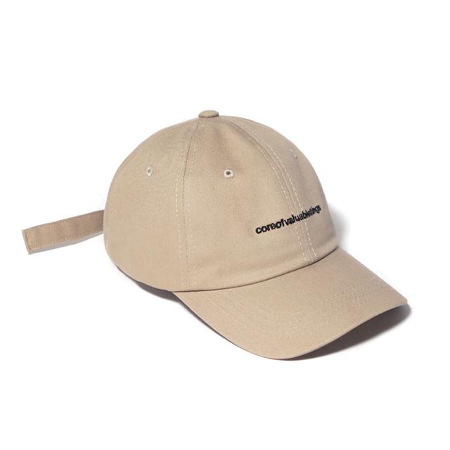 CORE CURVED CAP-BEIGE