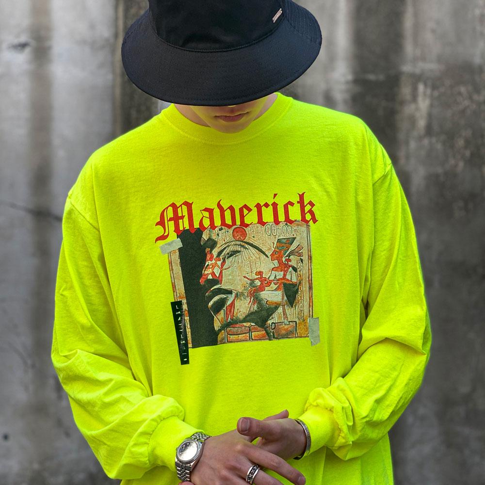 BBD Maverick Long Sleeve Tee (Neon)