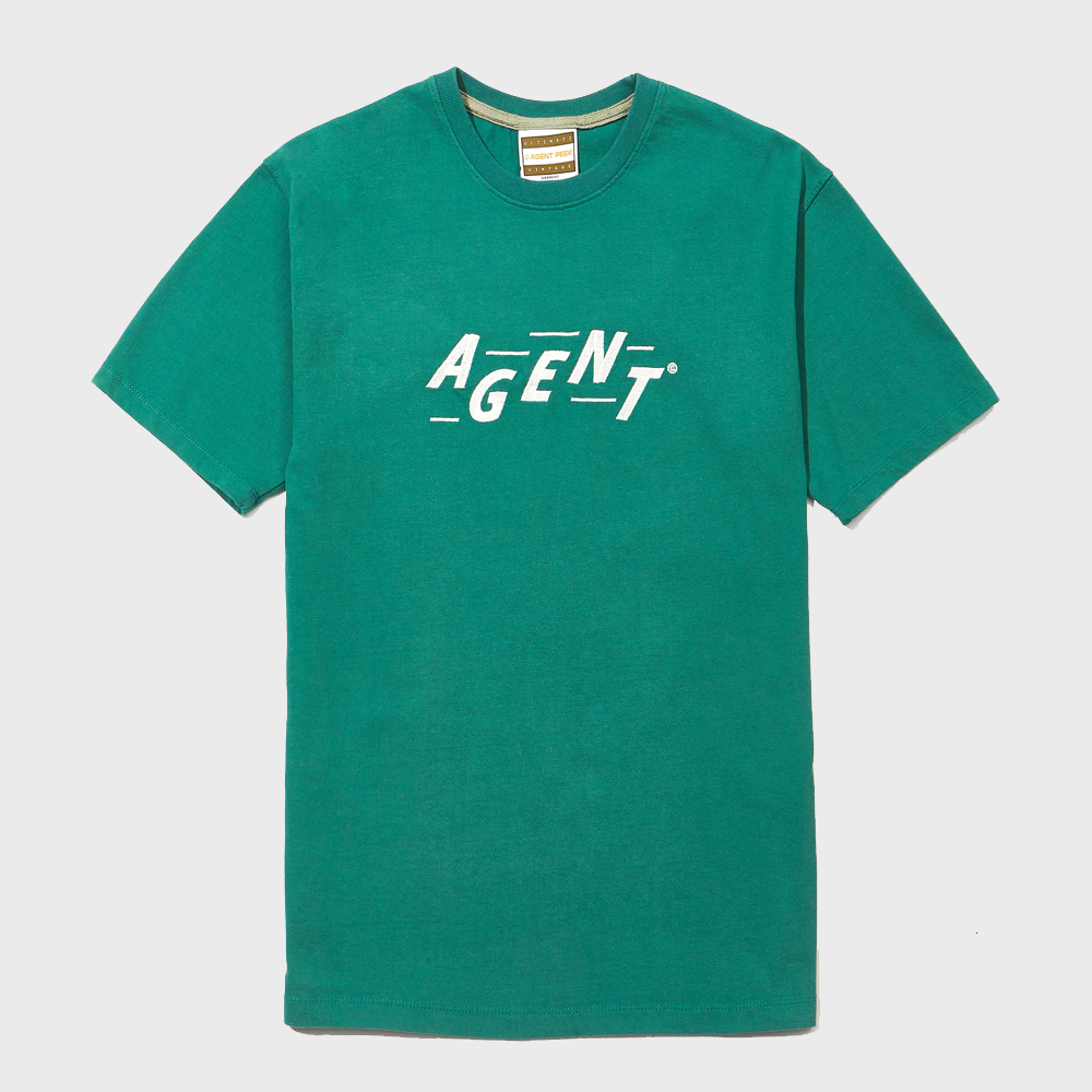 20SS AGENT INITIAL SHORT SLEEVE [GREEN]