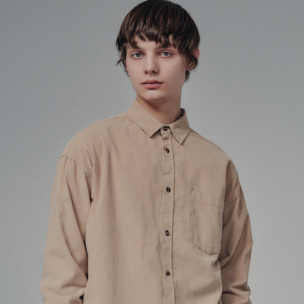 Corduroy Shirts(Beige)