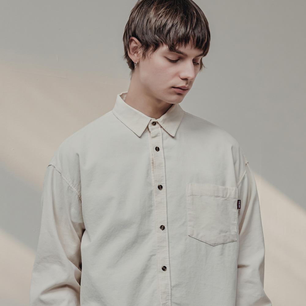Corduroy Shirts(Ivory)