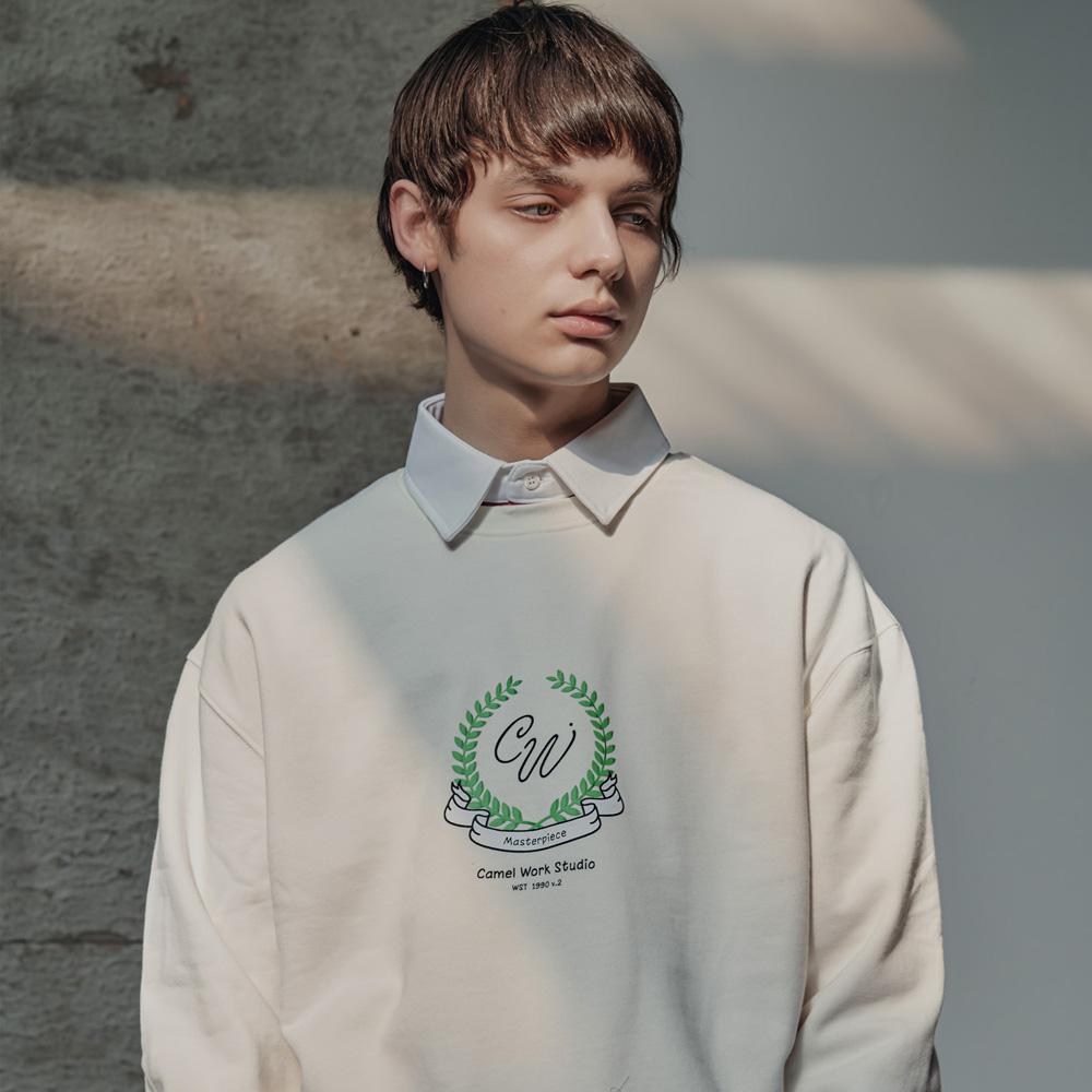 Laurel Sweatshirts(Ivory)