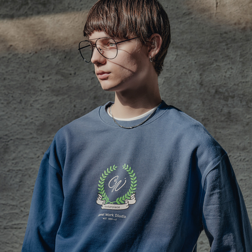Laurel Sweatshirts(I.Blue)