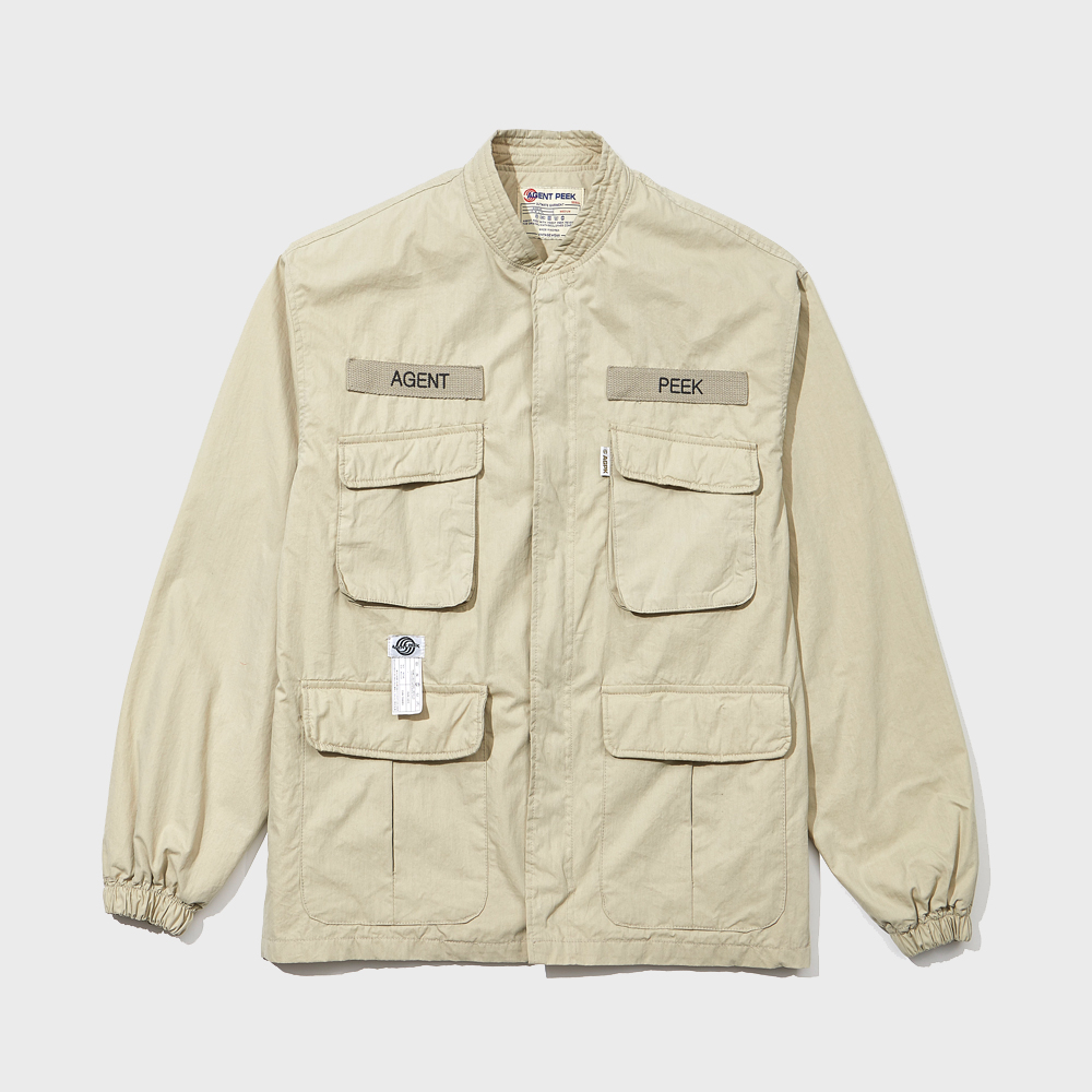 20SS POCKET JUMPER [BEIGE]