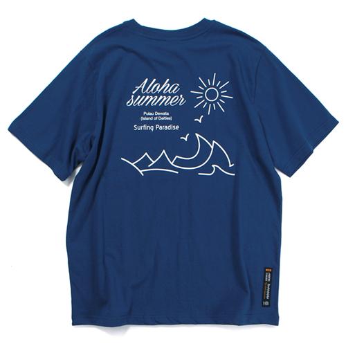 SURFING PARADISE T-SHIRT (NAVY)