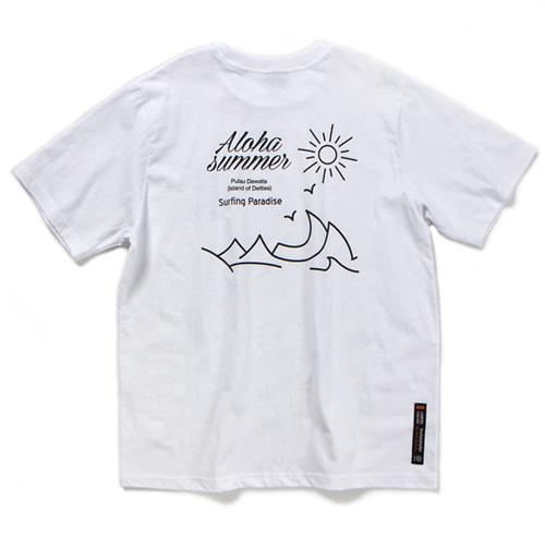SURFING PARADISE T-SHIRT (WHITE)