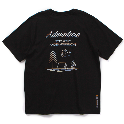 ANDES T-SHIRT (BLACK)