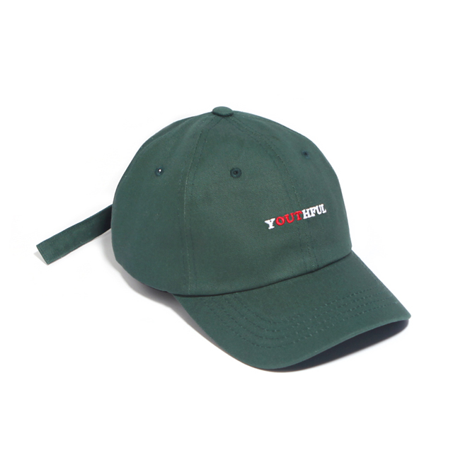 SEISHUNE CURVED CAP-GREEN
