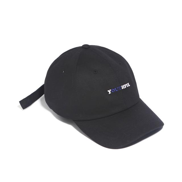 SEISHUNE CURVED CAP-BLACK
