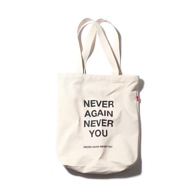 NEVER ECO BAG-IVORY