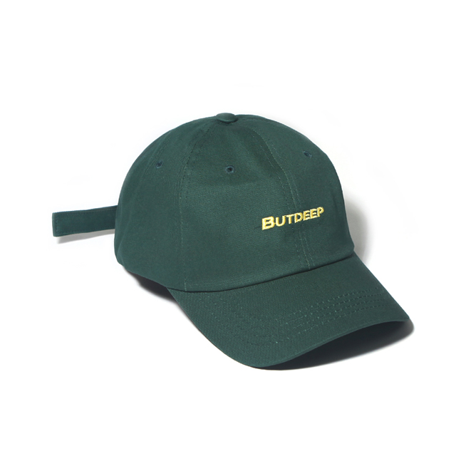 LINE CURVED CAP-GREEN