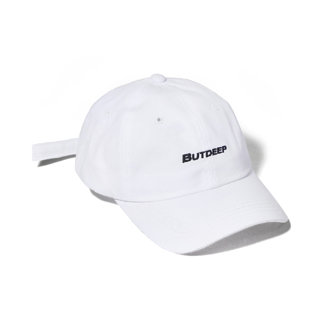 LINE CURVED CAP-WHITE