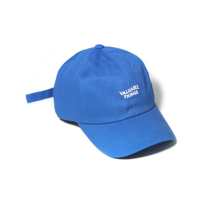WAVE CURVED CAP-BLUE