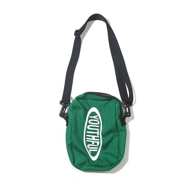 OVAL SIDE BAG-GREEN