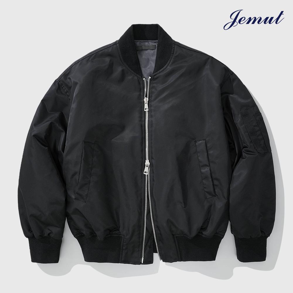 [제멋] 노블 투웨이 오버핏 MA-1 자켓 블랙 HJJK2281