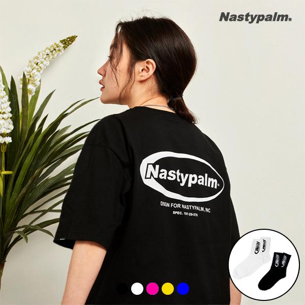 [마스크 증정][빅사이즈 추가] 네스티 써클 로고 반팔 5color