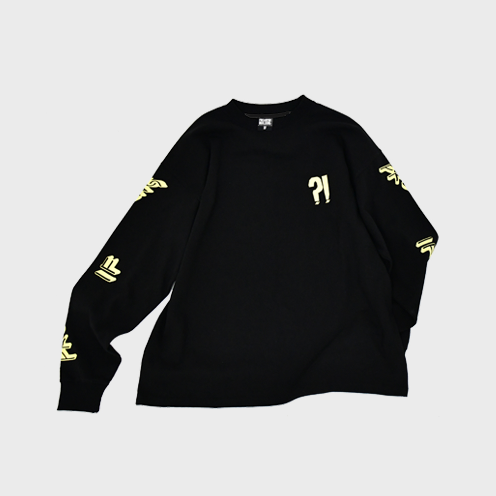 [FHBG] BANG LONG SLEEVE T-SHIRTS (BLACK)