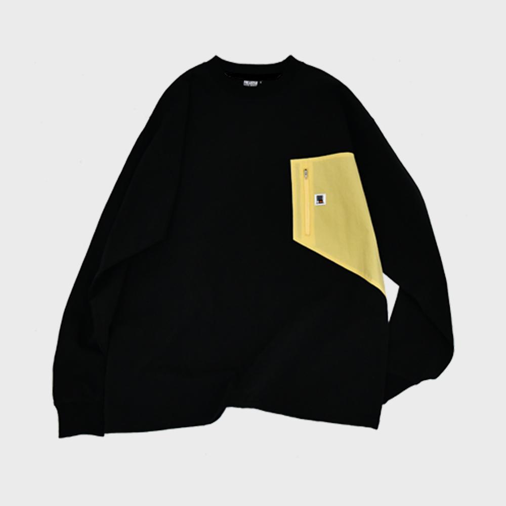 [FHBG] PUIN LONG SLEEVE T-SHIRTS (BLACK)