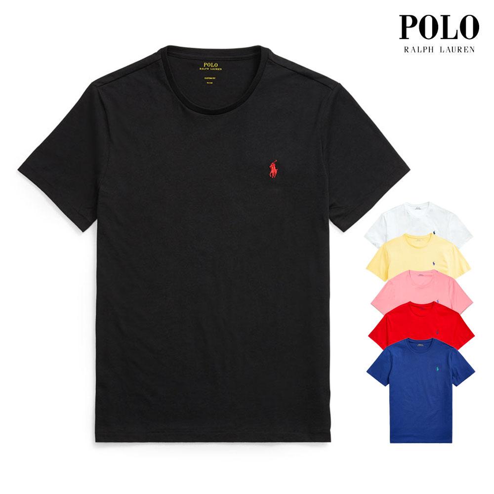 [폴로랄프로렌]남녀공용 라운드넥 반팔 티셔츠