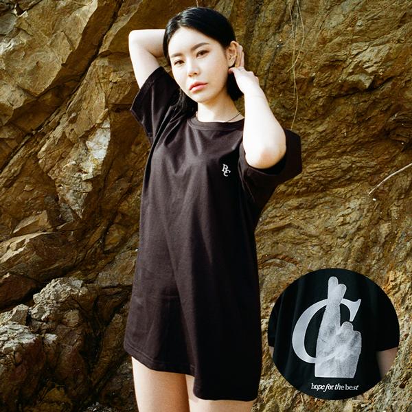 [단독할인](rkst-0015)영어 수화 티셔츠2color