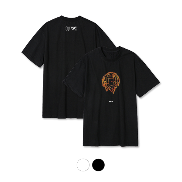 [단독할인](rkst-0019)파이어 어스 티셔츠2color
