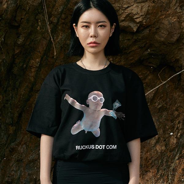 [단독할인](rkst-0021)머니 베이비 티셔츠2color
