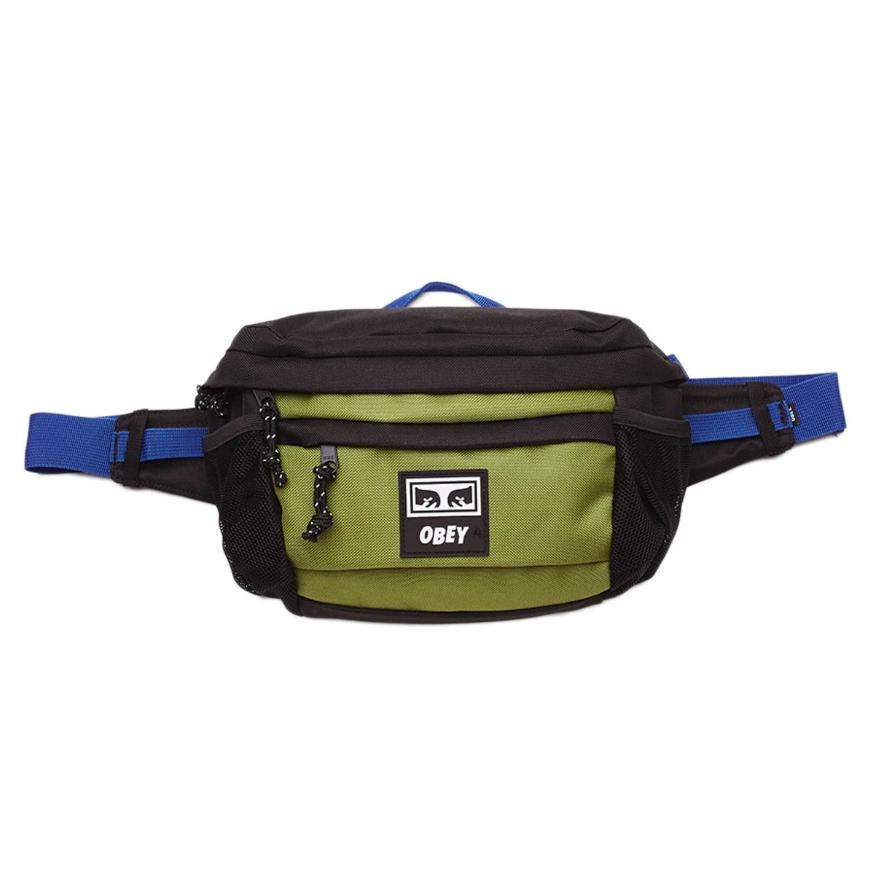 [단독할인]오베이크로스백 CONDITIONS WAIST BAG III 100010134 BLACK MULTI